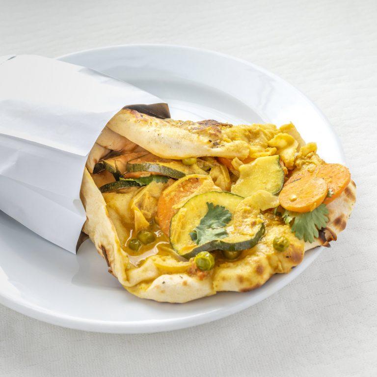Indian Cheese and Garlic Navratan Korma Kebab