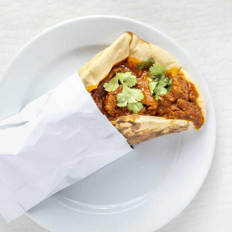 Indian Garlic Beef Vindaloo Kebab