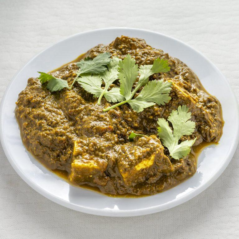 Indian Palak Panner
